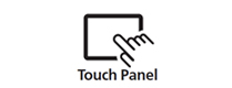 Features Touch Panel