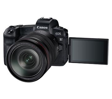 Canon EOS R Kit Front Slant Left LCD