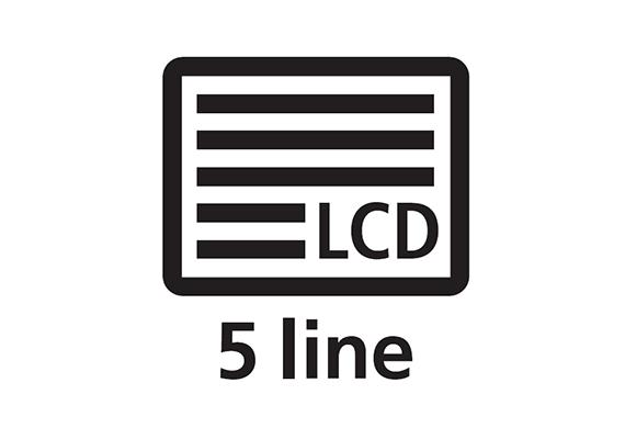 5 line