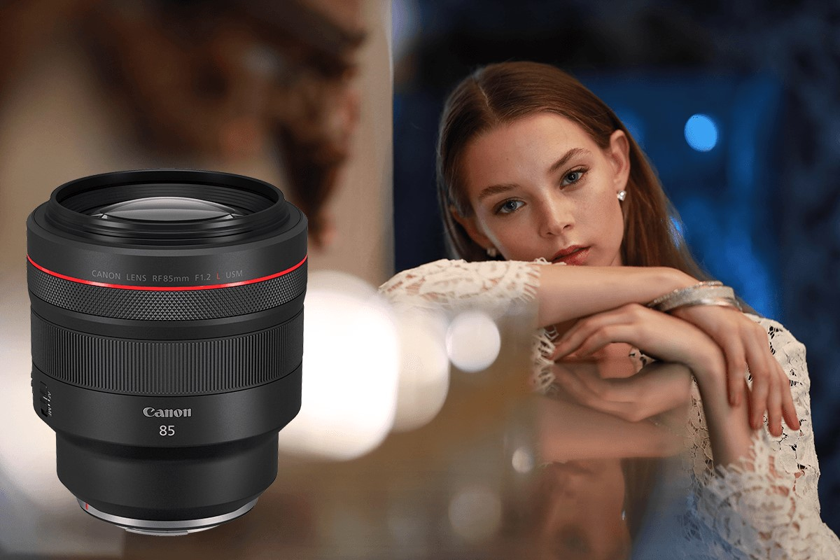 """Canon's new RF85mm f/1.2L USM lens deserves the title """"King of Portrait"""" and glorifies beauty"""