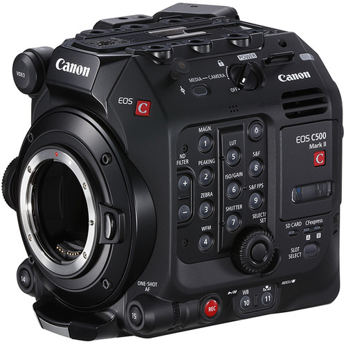 Canon unveils a lightweight and modular professional digital cinema camera