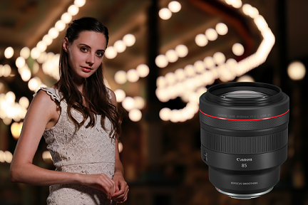 Canon Releases the RF85mm f/1.2L USM DS,  the Definitive RF-mount Portrait Lens with Smooth Gradient Bokeh