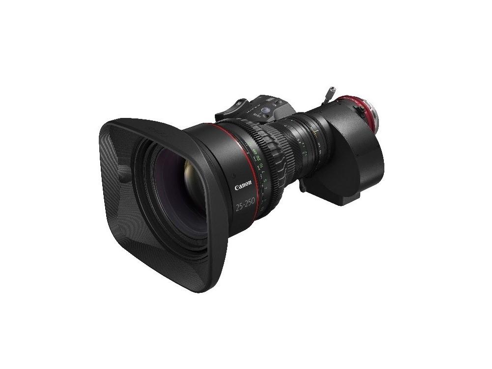 Canon giới thiệu 2 ống kính EF Cinema mới thuộc dòng CINE-SERVO.