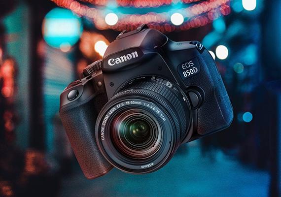 """Nâng tầm nhiếp ảnh với EOS 850D – Chiếc máy ảnh DSLR dòng bán chuyên mới  nhất của Canon, nhỏ gọn, hợp túi tiền mà tính năng """"khủng"""". - Canon Vietnam"""