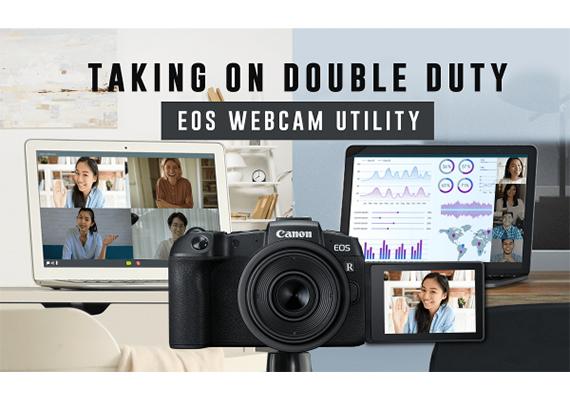 Canon ra mắt phiên bản đầy đủ của phần mềm EOS Webcam Utility