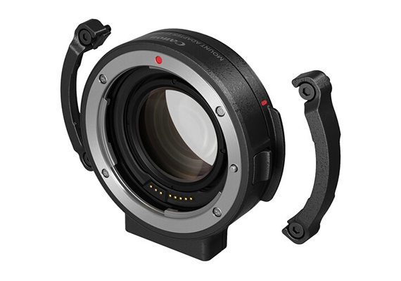 Canon announces the Mount Adapter EF-EOS R 0.71x that enables use of EF lenses on the RF mount EOS C70