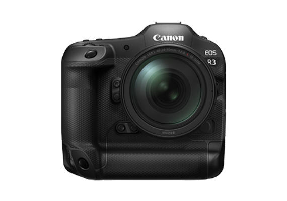 Canon Announces Development of the EOS R3 Full-frame Mirrorless Camera that Delivers High Speed, High Sensitivity and High Reliability to Expand Users' Range of Photographic Possibilities.