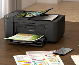 PIXMA Ink Efficient E4570 All-in-one Printer Combines High Yield and Low-Cost Printing to Benefit Students and Home Offices